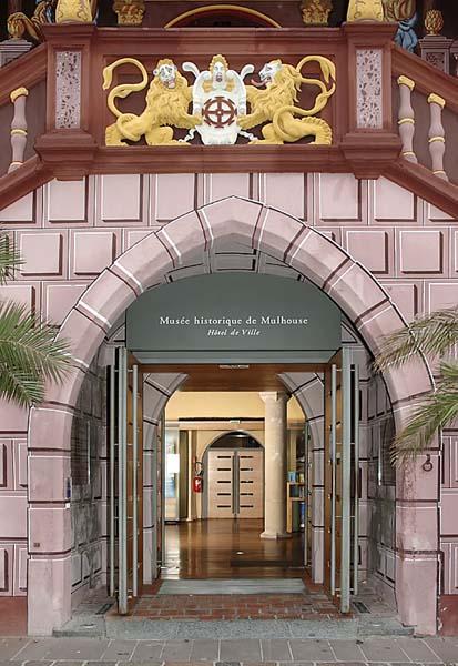 Extérieur du musée Historique ©Heckendorn